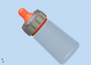 Baby Bottle Safety Cap